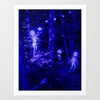 Star People Art Print
