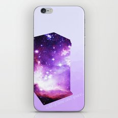 All of time and space - The Tardis iPhone & iPod Skin