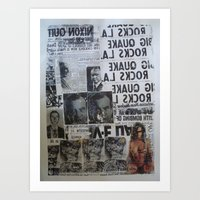 MORE NEWS Art Print