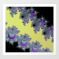 Asymmetrical Fractal In … Art Print