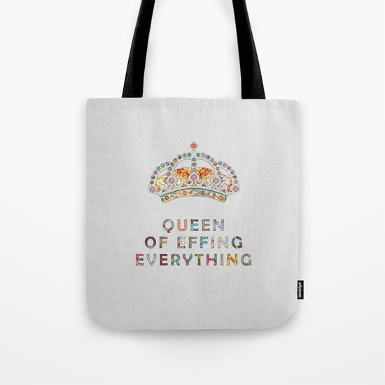 her daily motivation Tote Bag