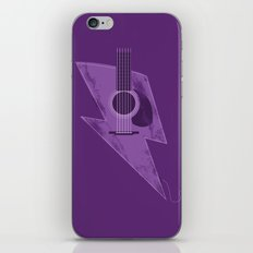 Electric - Acoustic Lightning iPhone & iPod Skin