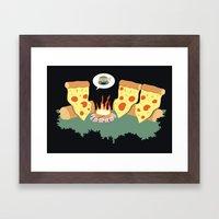 Campfire Tales Of A Pepp… Framed Art Print