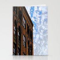 Corner of Main St. & Sky Stationery Cards