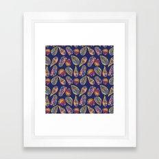 shell colorful Framed Art Print