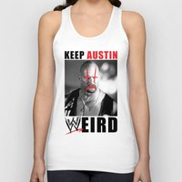 Keep Austin WWEird Unisex Tank Top