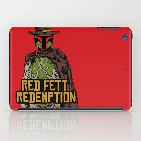 Red Fett Redemption iPad Case