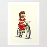 Bicycle. Art Print