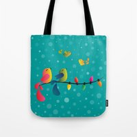 Fly High, My Babies - Merry Christmas Tote Bag