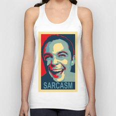 Sarcasm Unisex Tank Top