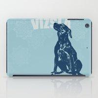 Vizsla Dog Art iPad Case