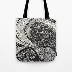Cosmic Octopus Tote Bag