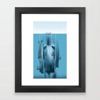 BARRACUDA Framed Art Print