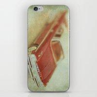 Vintage Red De Soto  iPhone & iPod Skin