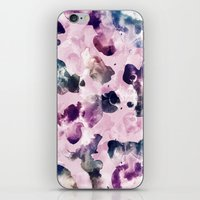 Ink Blooms iPhone & iPod Skin