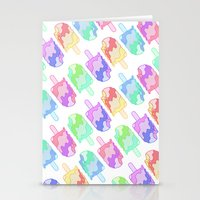 Ice Cream Melt Stationery Cards