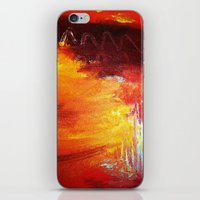 Forest Fire  iPhone & iPod Skin