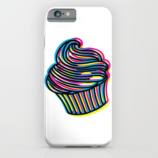 CMYK Cupcake iPhone & iPod Case
