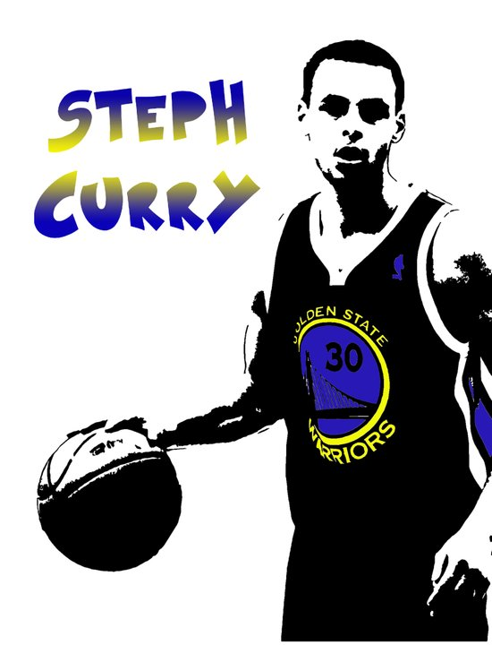 Stephen Curry Golden State Point Guard  Art Print