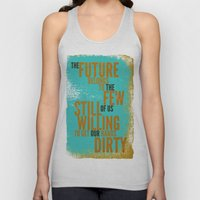 The Future Belongs To Yo… Unisex Tank Top