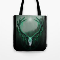 Wild Horns Tote Bag