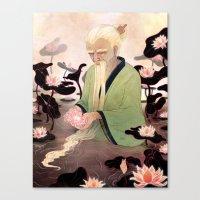 Flowers of Illusion Canvas Print