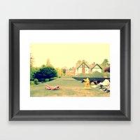 Sorry Solider  Framed Art Print