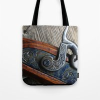 BlackPowder Tote Bag