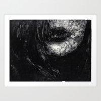 Lips1 Art Print