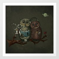 Nightowls Art Print