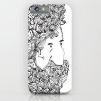 Bearded Man iPhone 6 Slim Case