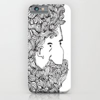 Bearded Man iPhone 6 Slim Case