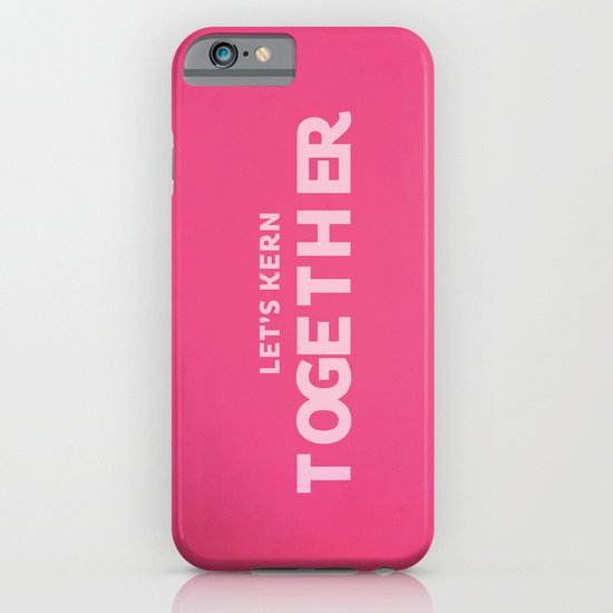 Let's kern together iPhone & iPod Case