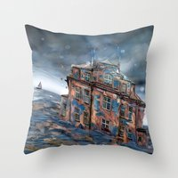 Landunter Throw Pillow