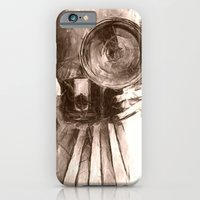 iPhone & iPod Case featuring girl with camera by Julia Kovtunyak