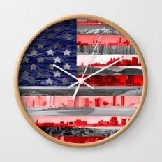 My America Wall Clock