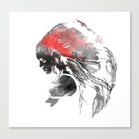 Indianian  Canvas Print