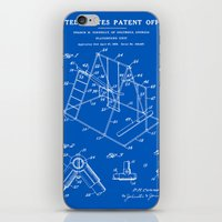 Playground Patent - Blueprint iPhone & iPod Skin