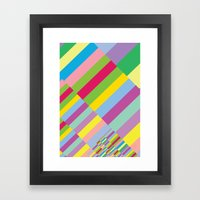 Stairs To Office  [COLOR… Framed Art Print