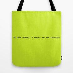 We are infinite Tote Bag
