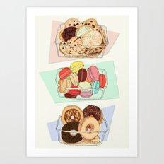 Sweet Punnets Art Print