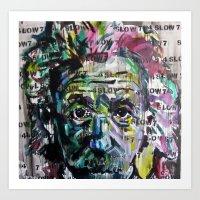 4 Langsam 7 Art Print