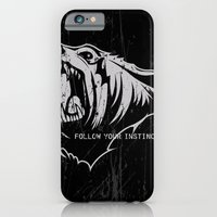 iPhone & iPod Case featuring The Bear by Alberto Angiolin