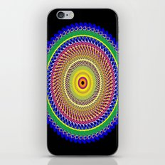 Carnival Mandala iPhone & iPod Skin