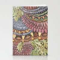 Quilted Forest: The Owl Stationery Cards