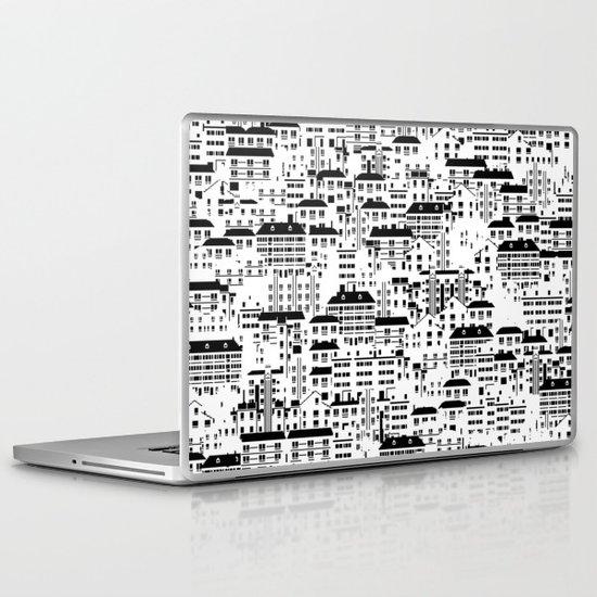 Shanghai wallpaper Laptop & iPad Skin