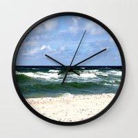 sea calling Wall Clock