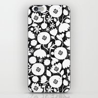 clear cut flowers iPhone & iPod Skin