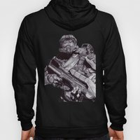 Master Chief Pen Drawing Hoody
