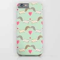 iPhone & iPod Case featuring Squirrel Love by Sian Keegan
